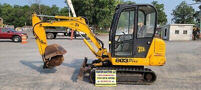 2001 Jcb 803 Plus Mini Excavator. 2443 Hours. Just Serviced Ready For Work