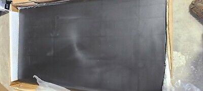 Black Bullnose Plastic Store Shelf Gridwall Slatwall 62103 Set Of 4 13 X 24