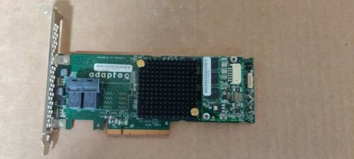 Adaptec ASR-7805 1G 6GB/s SAS PCIe RAID Controller Card 1GB Cache