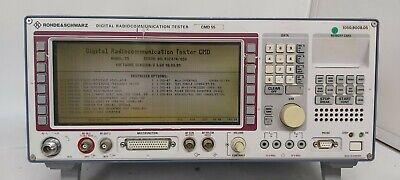 Rohde Schwarz Cmd 55 Radio Communications Tester Make Offers
