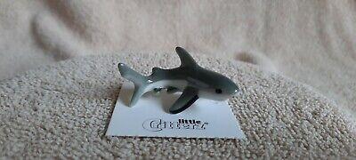 "LITTLE CRITTERZ Great White Shark ""Ambush"" Miniature Figurine New LC235"