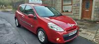 2010 Renault Clio 1.2 TCE I-Music 3dr Hatchback Manual,Red.