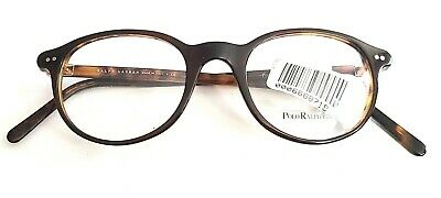 Ralph Lauren Polo PH2047 Brown Tortoise Round Eyeglass Frames 48/20 145
