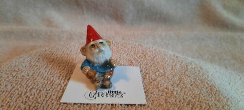 "LITTLE CRITTERZ Garden Gnome ""Dal Erf"" Miniature Figurine New FREE SHIP LC615"