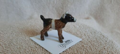 "LITTLE CRITTERZ Pygmy Goat Kid ""Chiumbo"" Miniature Figurine New LC704"