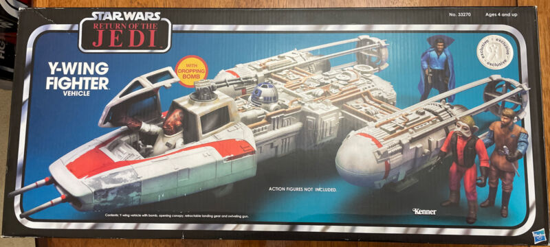 Star Wars Vintage Collection Y-Wing ToysRUs Exclusive 2011 Return Of The Jedi