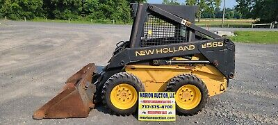 1997 New Holland Lx565 Skidloader. 1435 Hours Just Serviced New Tires