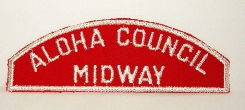 BOY SCOUT ALOHA COUNCIL / MIDWAY RWS