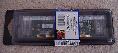 32d Cisco Approved Memory - 32MB Memory Module KCS-D2600/32 Cisco 2600 Router Approved P/N MEM2600-32D