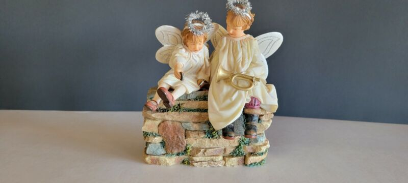 MAMA SAYS NATIVITY COLLECTION DEMDACO ANGELS FIGURINE By Kathy Fincher 2007