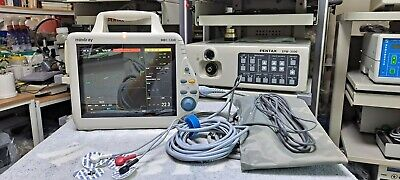 (World Wide-TransPortable) Used Mindray MEC 1200 Patient Monitor