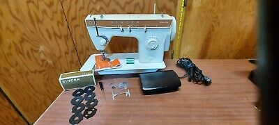 Heavy Duty Leather Upholstery Denim Vinyl Sewing Machine Serviced 1.0 Amp ...