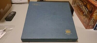 Scrabble Deluxe Edition Original S&R Games (Turntable) (Complete) 1977
