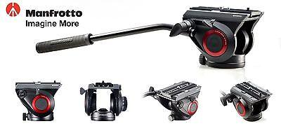Manfrotto MVH500AH Lightweight Pro Fluid Video Head Flat Base for Camera