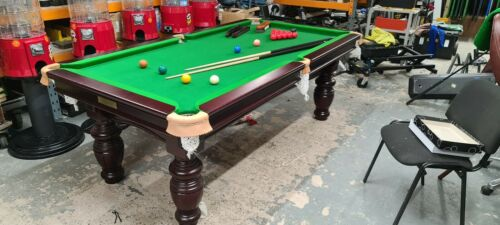 8ft x 4ft Snooker Table Slate Bed SALE SALE SALE IMMEDIATE DELIVERY AVAILABLE