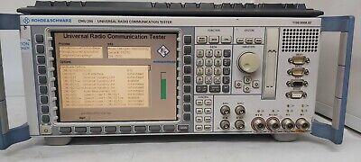 Rohde Schwarz Cmu 200 Universal Radio Communication Tester Make Offers