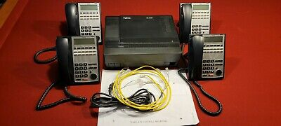 Nec Sl1100 Phone System W Auto Attendant Free Shipping
