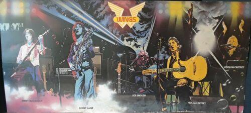 PAUL MCARTNEY & WINGS ACROSS AMERICA 1976 VINTAGE MUSIC RECORD STORE DISPLAY