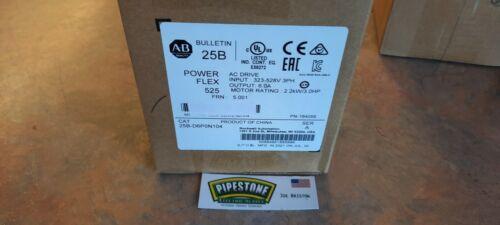 "25B-D6P0N104  Allen Bradley     ""Factory Sealed - 2021""           Kentucky Stock"
