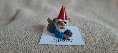 "LITTLE CRITTERZ Garden Gnome ""Callad"" Miniature Figurine New FREE SHIPPING LC617"