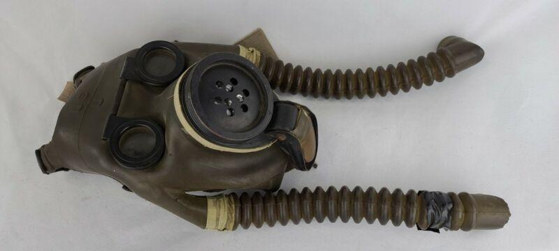 E39R5 U.S. Army M1-1-5 Optical Diaphragm Gas Mask