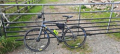 Boardman team hybrid bike carbon forks new chain and brakes recent service