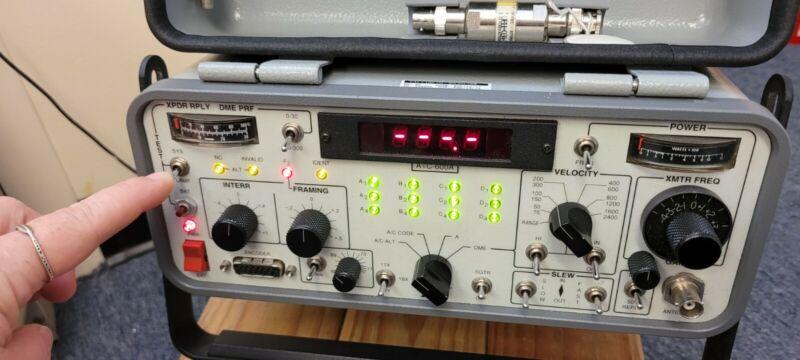 IFR/Aeroflex ATC-600A Portable Transponder/DME Ramp Test Set