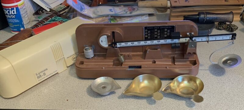 """Lyman Ohause """"M5"""" precision reloading scale"""