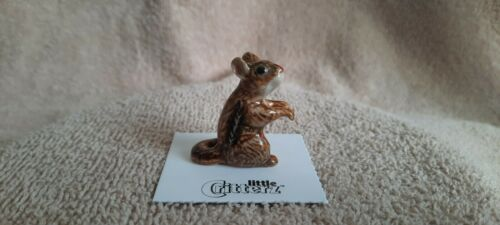 "LITTLE CRITTERZ Chipmunk ""Chipper"" Miniature Figurine New LC111"