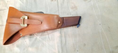 Browning Hi Power Stock Board With Leather Holster