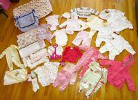 Vêtements pour fille - gr. 3m jusqu'à 12m