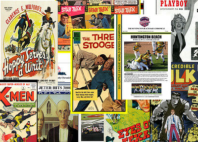 """(4) PACK POSTER SPECIAL - ANY (4) 8.5""""x11"""" POSTERS IN OUR STORE, NO EXCLUSIONS!!"""