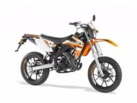Rieju MRT 50LC Yamaha 50cc Engine Supermoto Flexible Payments & Delivery