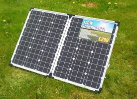 Falcon 100w solar panel used once