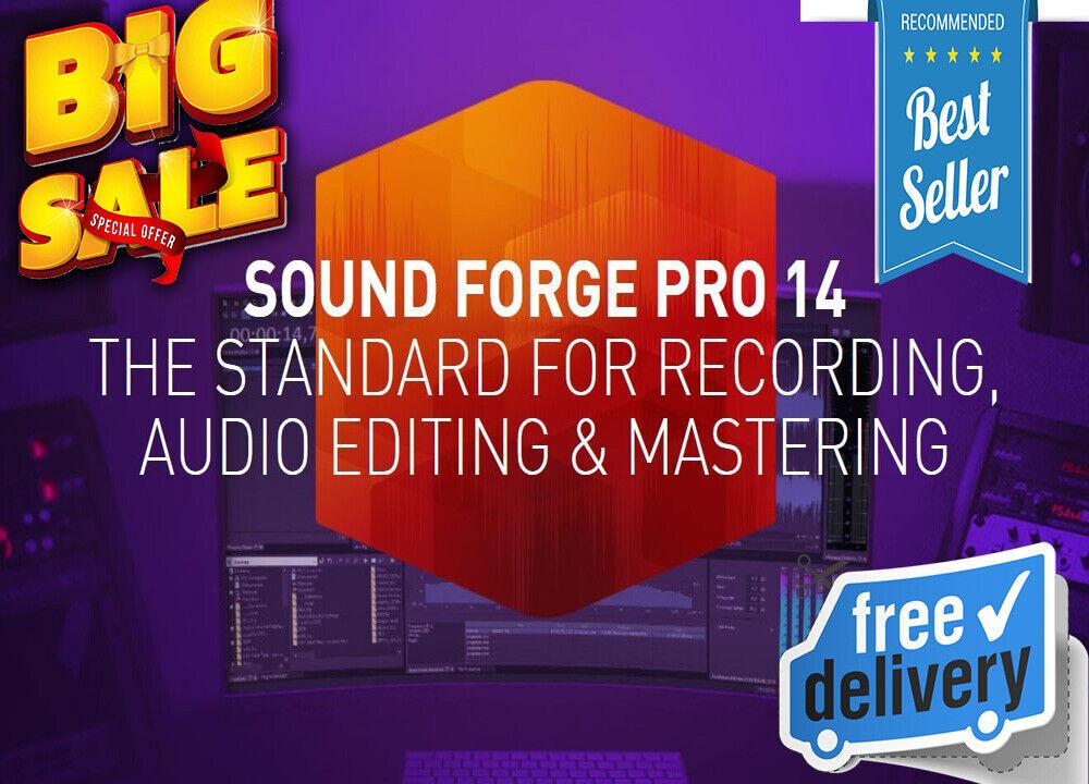 MAGIX SOUND FORGE Pro 14 Suite ❗ Latest ❗ For Windows ❗???? LifeTime Activated ????