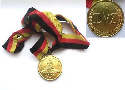 DDR Medaille LVZ Leipzig 1967 Völkerschlacht Denkmal / East german sport medal