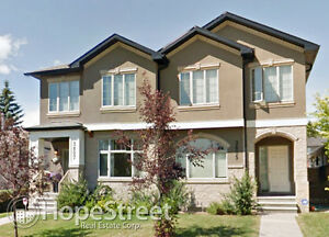 Gorgeous 4 Bedroom Duplex for Rent in Altadore
