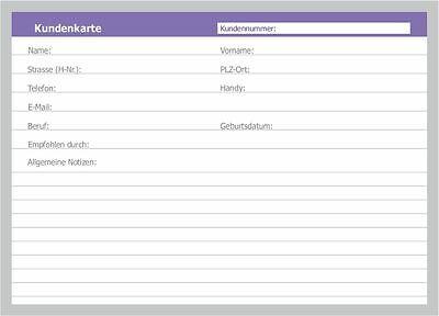 100 Karteikarten neutrale Kunden-Karteikarten DIN A5, universell