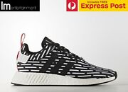 ADIDAS ORIGINALS NMD R2 PK PRIMEKNIT BLACK/WHITE US9 - BB2951 Perth Perth City Area Preview