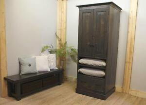 Reclaimed Wood Storage Cabinet $2995, Bench $945 By LIKEN