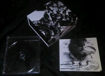 Metal Gear Solid Amazon Co Jp Exclusive Soundtrack Ost Collection Box Japan New
