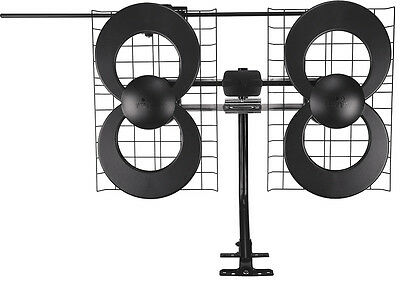 Antennas Direct - ClearStream 4V Indoor/Outdoor HDTV Antenna - Black/Silver