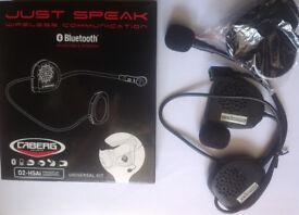 Caberg Just Speak Universal Intercom kit for GPS mp3 Bluetooth Open-Face Helmet