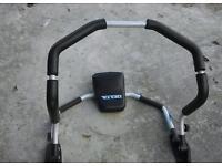 Abdominal plus exercise machine