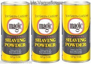 3-x-SoftSheen-Carson-Magic-Fragrant-Shaving-Powder-Help-Stop-Razor-Bumps