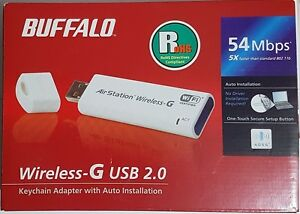 Buffalo AirStation Wireless-G 54 Mbps USB 2.0 Adaptor - Italia - Buffalo AirStation Wireless-G 54 Mbps USB 2.0 Adaptor - Italia