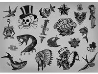 TATTOOS DEALS, TATTOO SHOP, FLASH, TRADITIONAL, HAND POKED & ELECTRIC, DEALS, AFFORDABLE, CLEAN