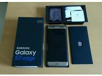 Samsung Galaxy S7 edge gold/platinum 32gb