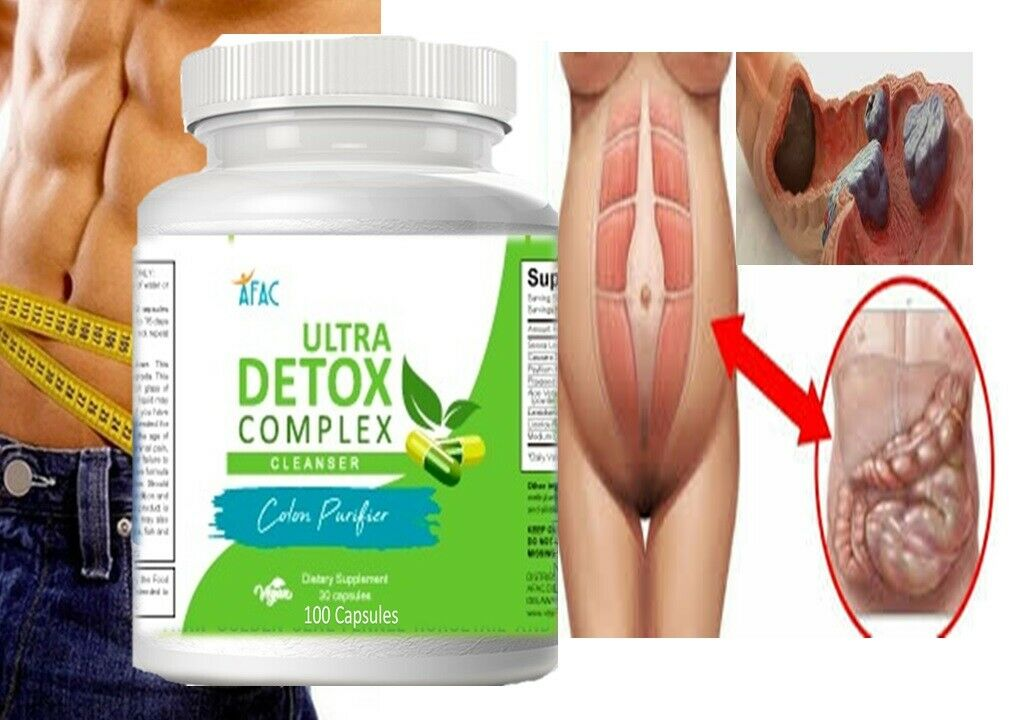 COLON CLEANSER powder capsules colagina desentoxicador livera seltzer detox