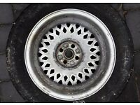 "MG Maestro Montego 15"" alloy wheel with tyre"